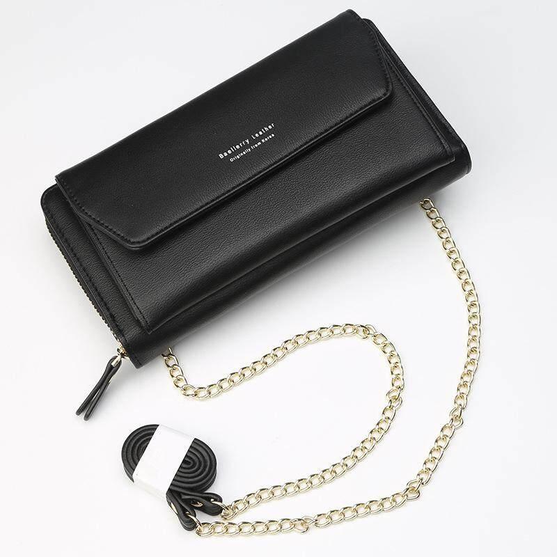 Women Chain Shoulder Bag Handbag Girls Purse Card Holder Wallet Phone Pocket