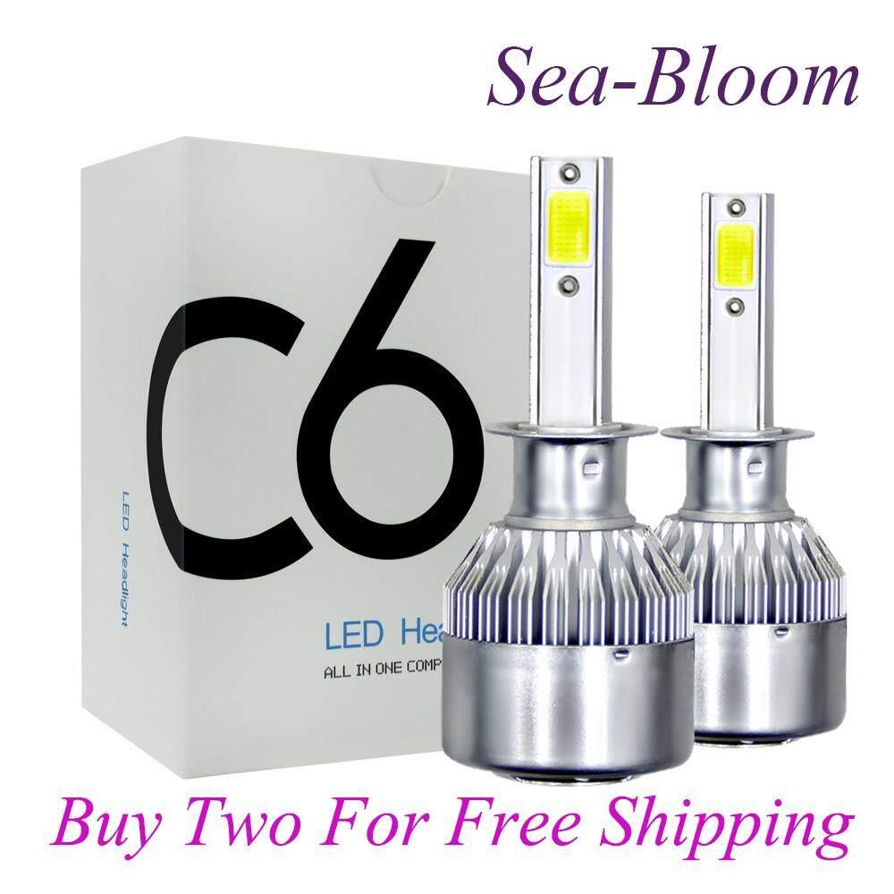 Laut-Bloom C6 Lampu Led Kit H8 H9 H11 200 W 20000lm 6000 K Rendah Balok Bola Lampu Kabut Hid By Sea-Bloom.