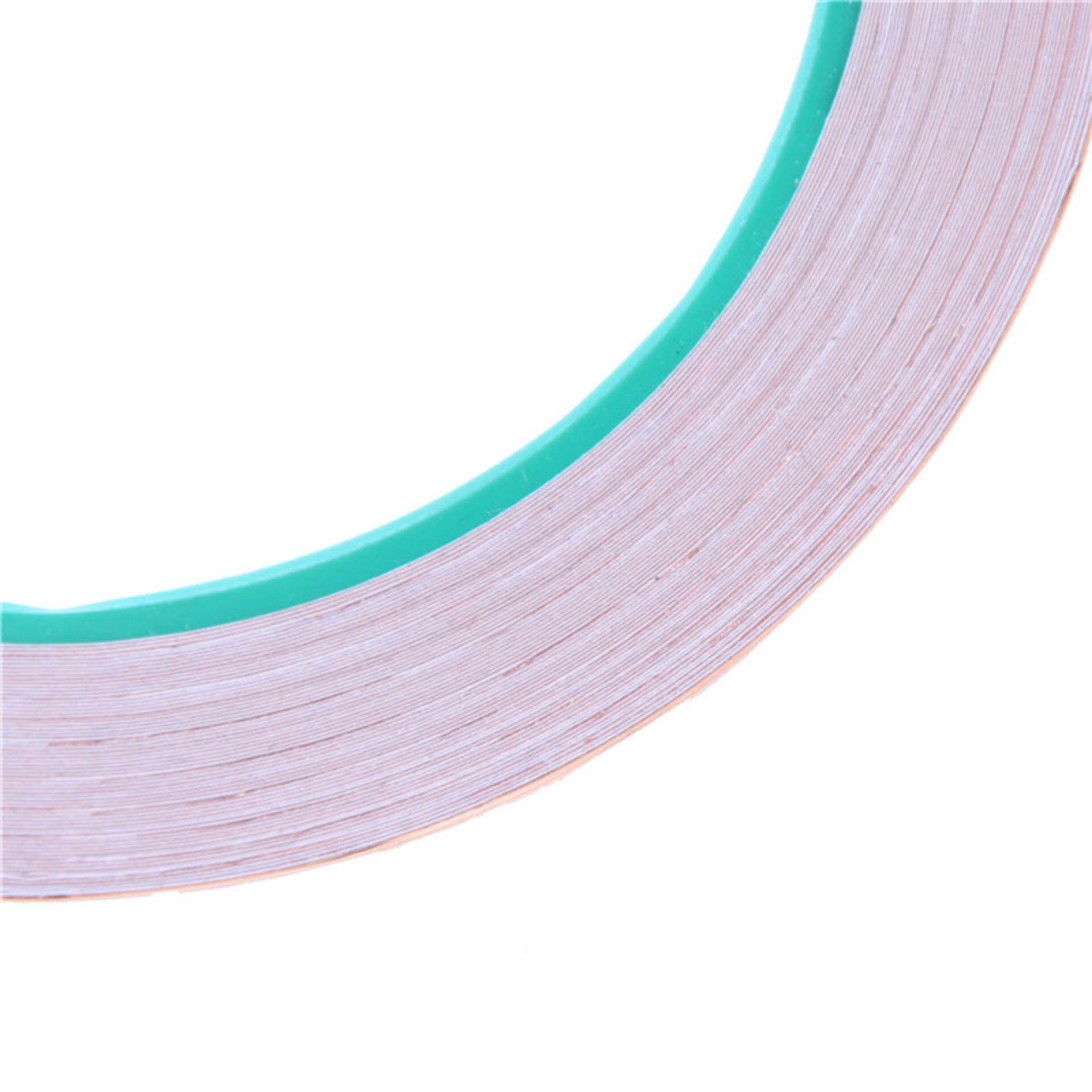 Fitur 5mmx25m Emi Copper Adhesive Foil Tape Self Isolasi Tembaga 50mm X 1m Roll Intl