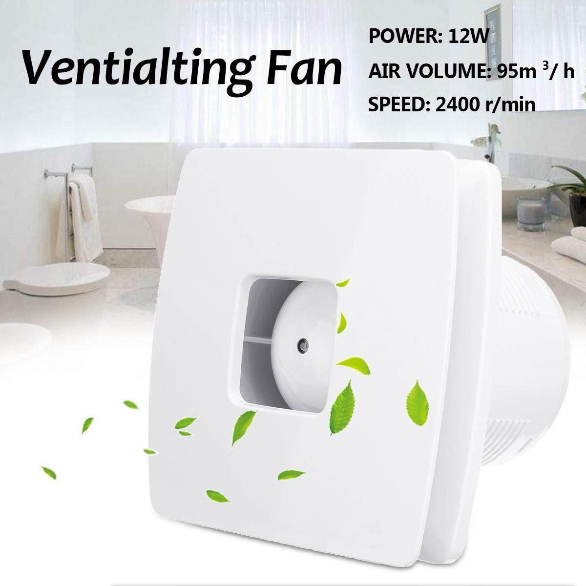 Exhaust Fan Bedroom Bathroom Window 4 Inch Quiet Ventilation