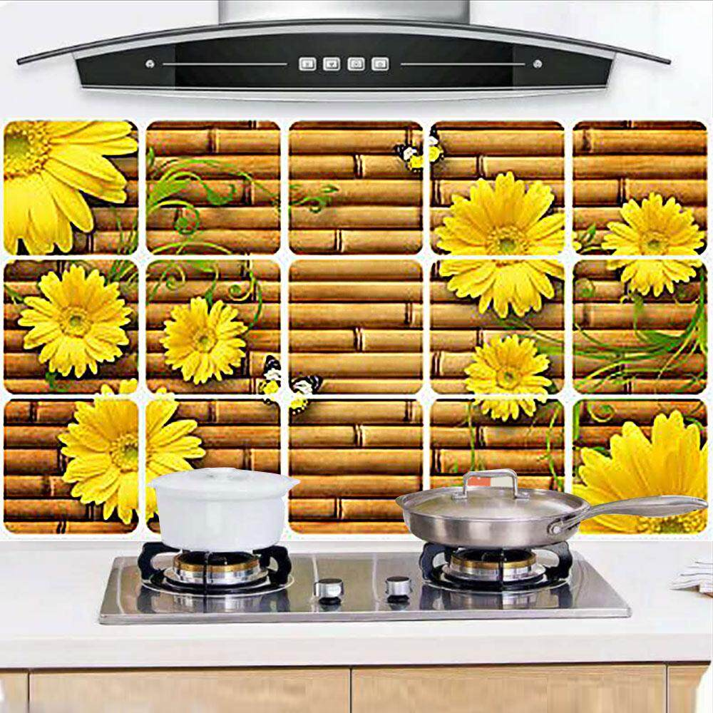 Bathroom bathroom tile stickers waist stickers kitchen ...
