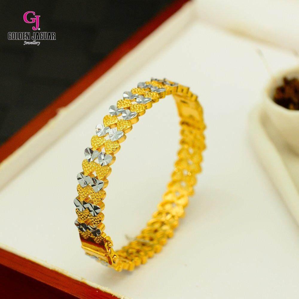 Emas Korea Golden Jaguar Bangle (GJJ-59895)
