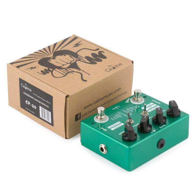 Caline CP-20 Mini Overdrive Guitar Effect Pedal True Bypass Musical Instrument