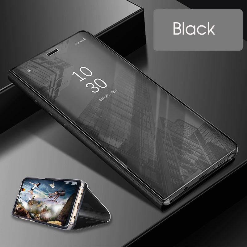VIVO V7 Cover Smart Cermin Plating Flip Pelindung untuk Vivo V7 Case S Jelas Housing Shell