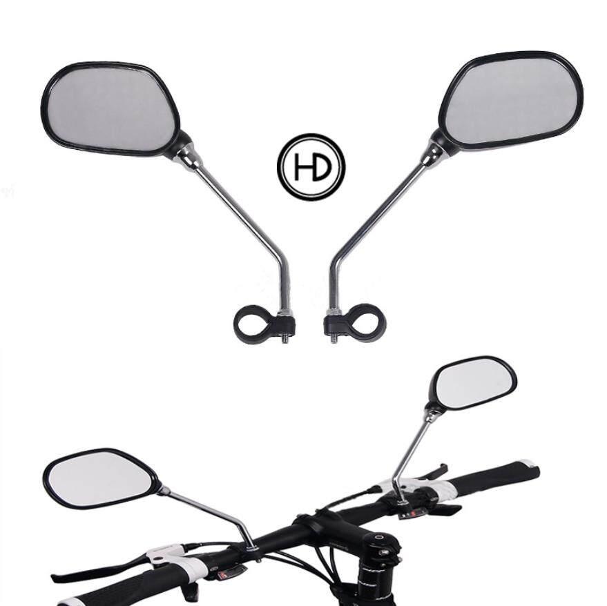 จักรยานจักรยานถนนไฟฟ้ากระจกมองข้างกระจกมองข้างกระจกรถจักรยานอุปกรณ์เสริมการขี่จักรยาน.