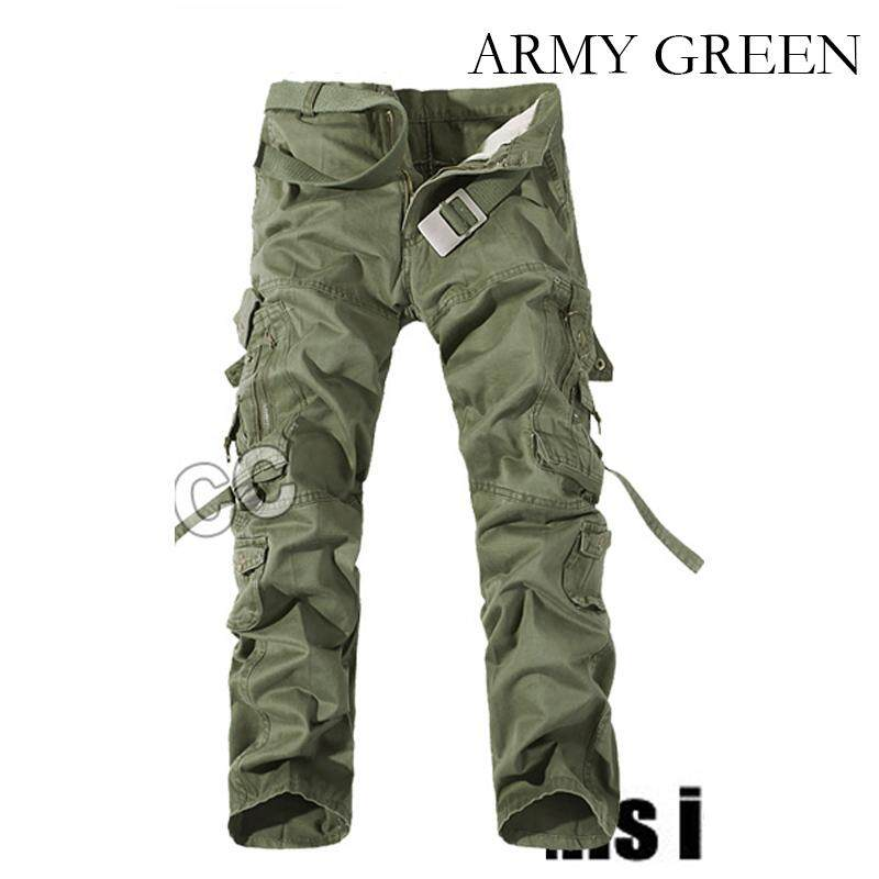 ec0f150ce3053 Spring Summer Men Cargo Pants Outdoor Hiking Long Trousers Military  Tactical Pants Large Plus Size Casual