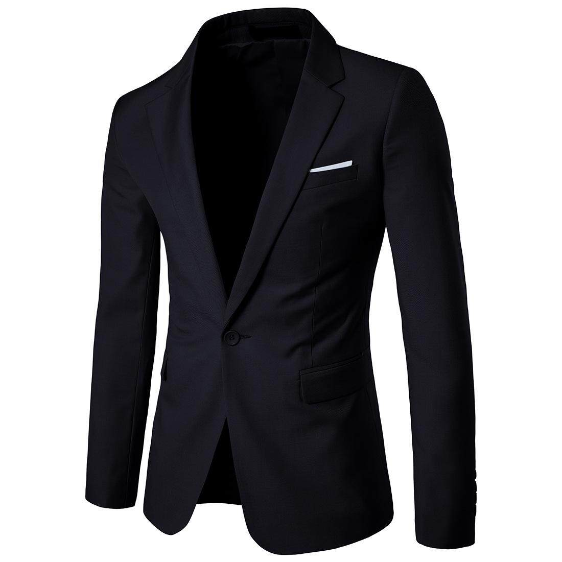 bff587457d Men Blazer 2018 New Suit Men Casual Jacket Latest Coat Designs Blazers Men  Clothing Plus Size
