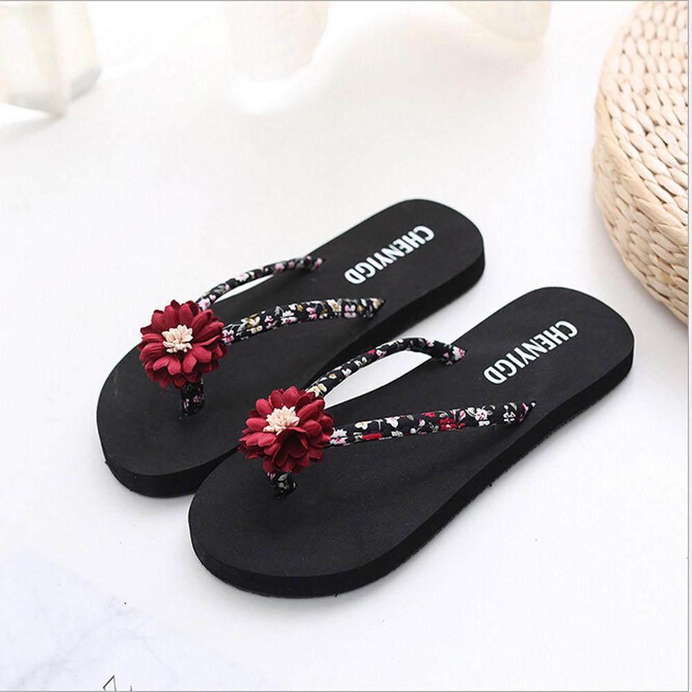 d0f9cd4cec40 Ulamore Ladies Slim Women Beach Flip Flops Flipflops Sandals Shoes Bath Slippers  Sandals