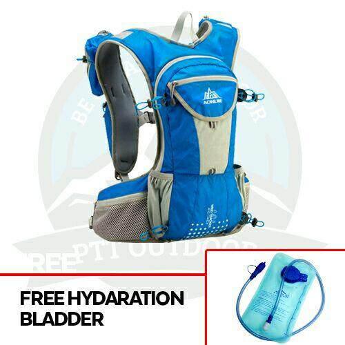 [READY STOCK] AONIJIE 12L HYDRATION BAGPACK HYDRATION BAG - Blue