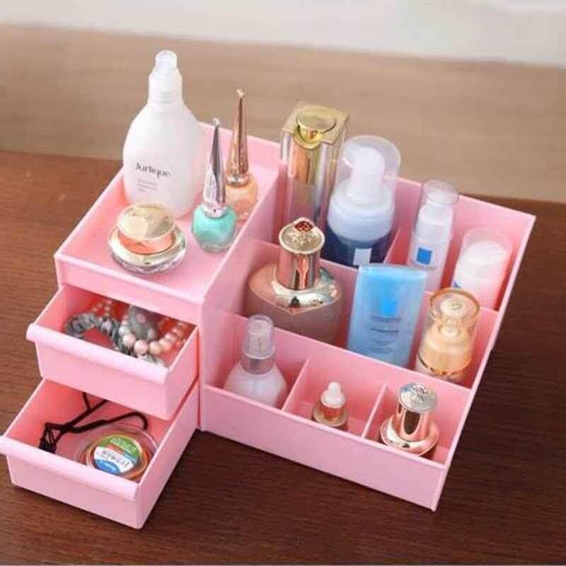 ... Burstore Plastik Kosmetik Kotak Penyimpanan Lingkungan Bersih Tidak Masalah-Internasional - 4 ...
