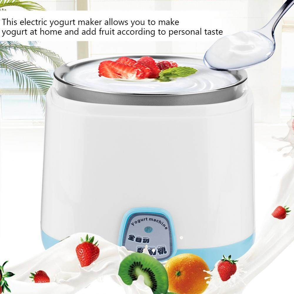 Household Electric Automatic Diy Yogurt Machine Maker Stainless Steel Inner Container (220v) - Intl By Highfly.