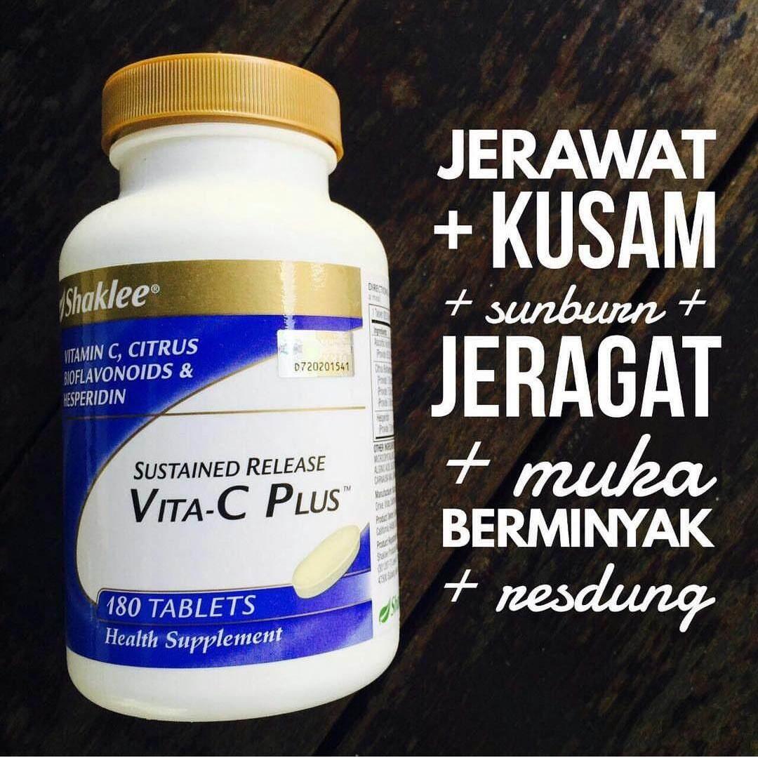 Shaklee Sustained Release Vita - C Plus™ (FREE SHIPPING) Natural Vitamin C (Melawan penyakit)