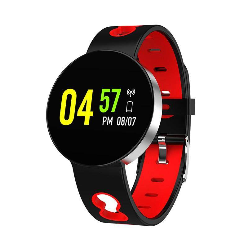 Homester X1 Gelang Kebugaran Pelacak Tekanan Darah Smart Band Monitor Denyut Jantung Ultrathin Warna Layar Jam Tangan Pintar untuk Android Xiaomi IOS