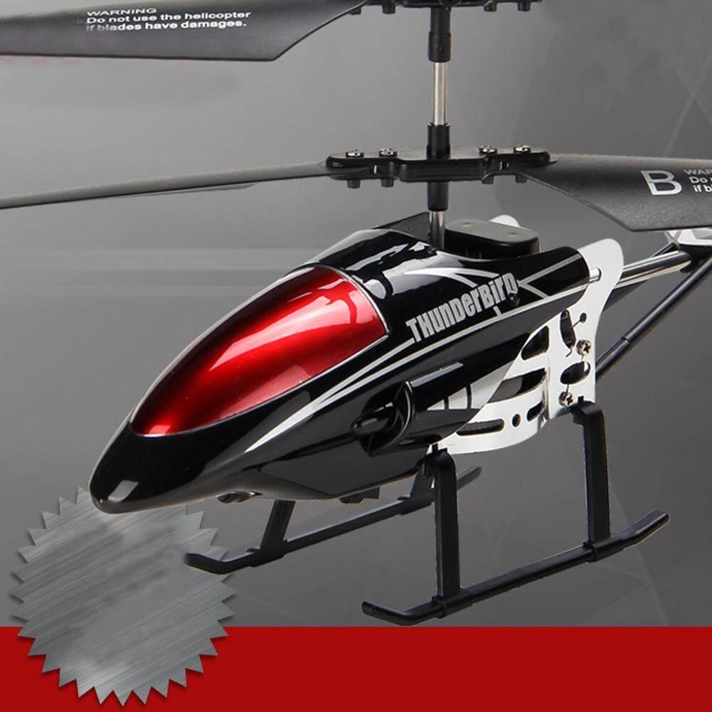 Bintang Paduan 3.5 Channel Helikopter RC Jatuh Tahan Elektronik Pengisian Mainan Model Pesawat untuk Anak-