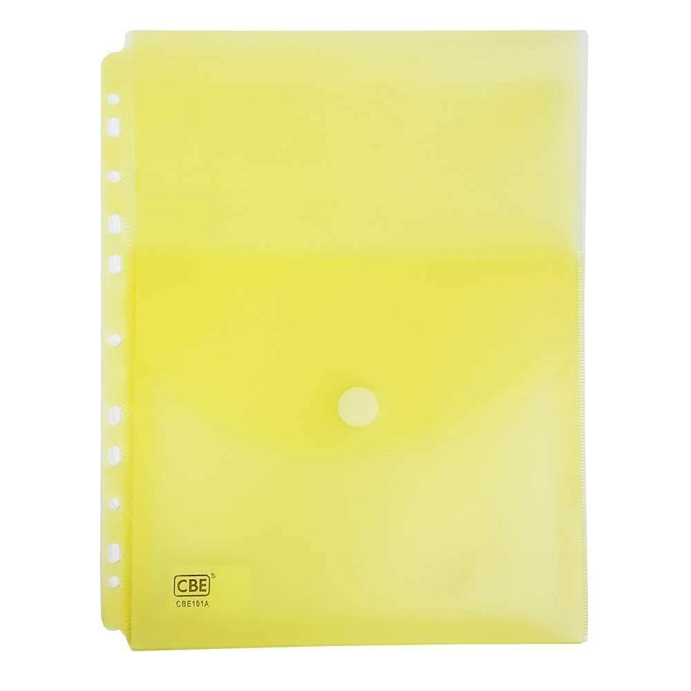 CBE 101A Document Holder W/11Holes (A4)-yellow