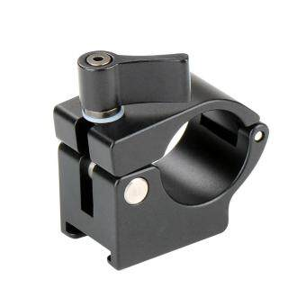 YBC 25mm Rail Rod Clamp Holder Adapter Alumium Alloy Stand Mount for Zhiyun DJI Stabilizer - intl