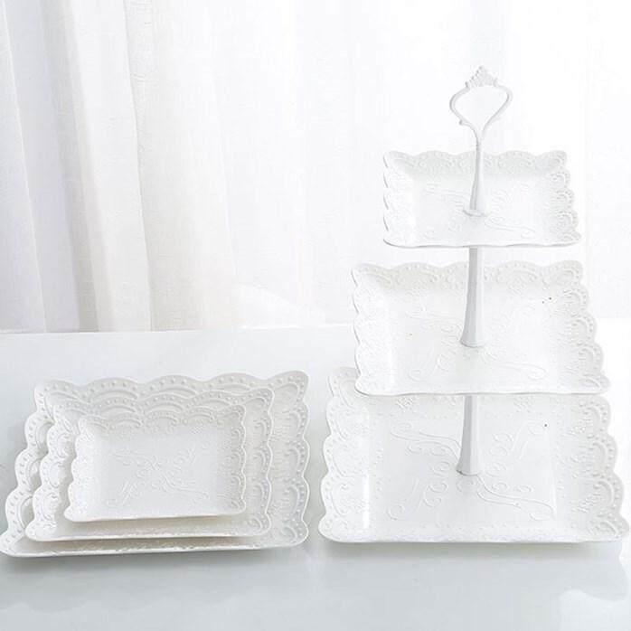 3 LAYER CAKE SQUARE STAND