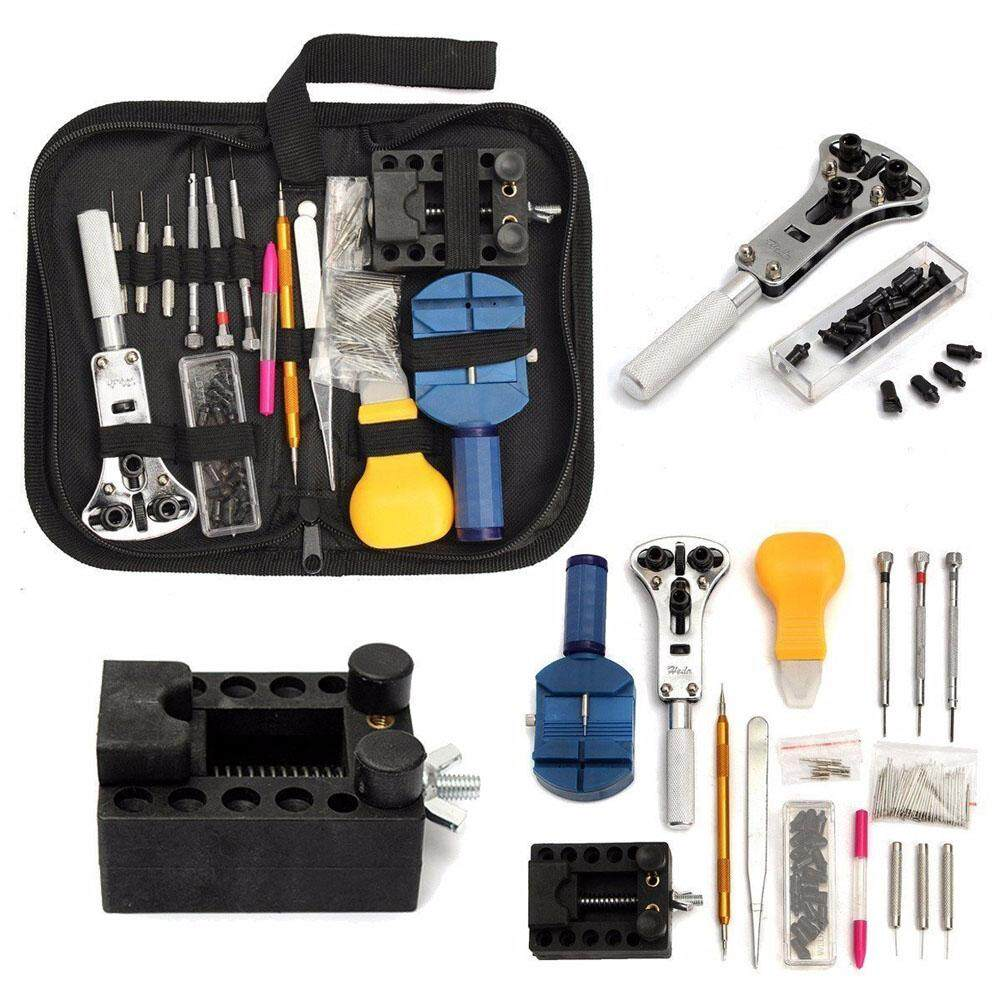 144pcs Watch Case Holder Opener Pin Link Remover Repair Tool Kit Malaysia