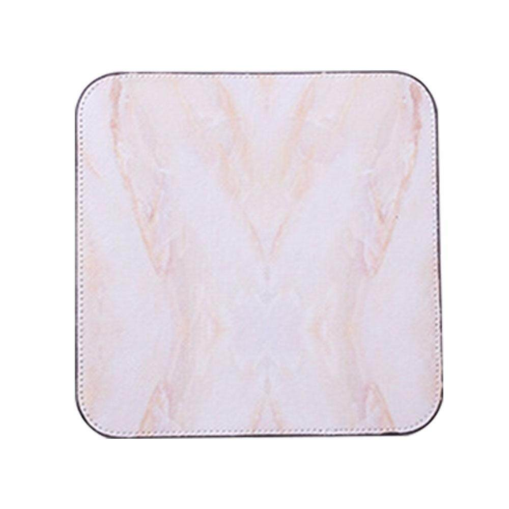 BuyInBulk Marble Square Mousepad, Rubber Base Cloth Gaming Mouse Pad Mouse Pads for Computers Laptop