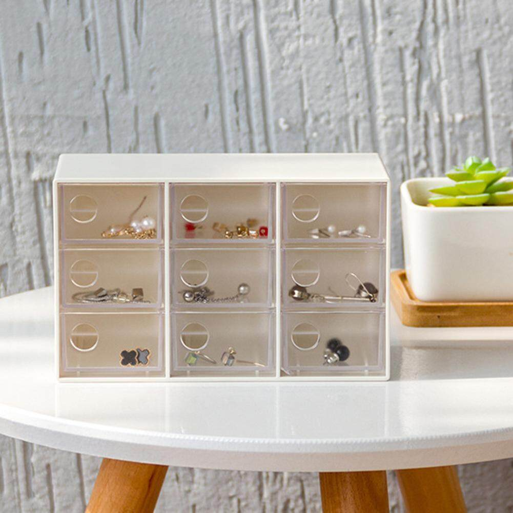 KEJARYStorage Box Japanese Style Creative Storage Drawer for Office Stationery Sundries Jewelry Desktop Storage Box