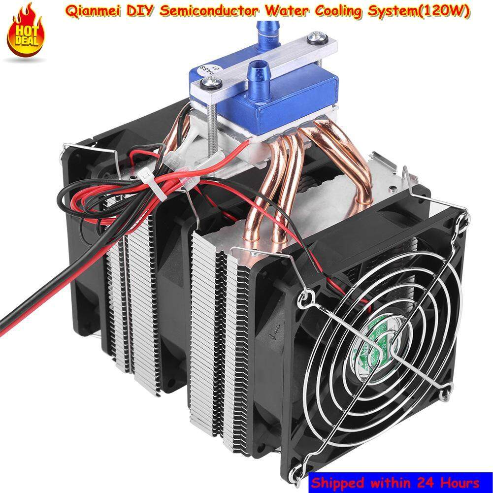 Qianmei Thermoelectric Cooler DIY Semiconductor Refrigeration Water Chiller Cooling System Device (120W) Malaysia