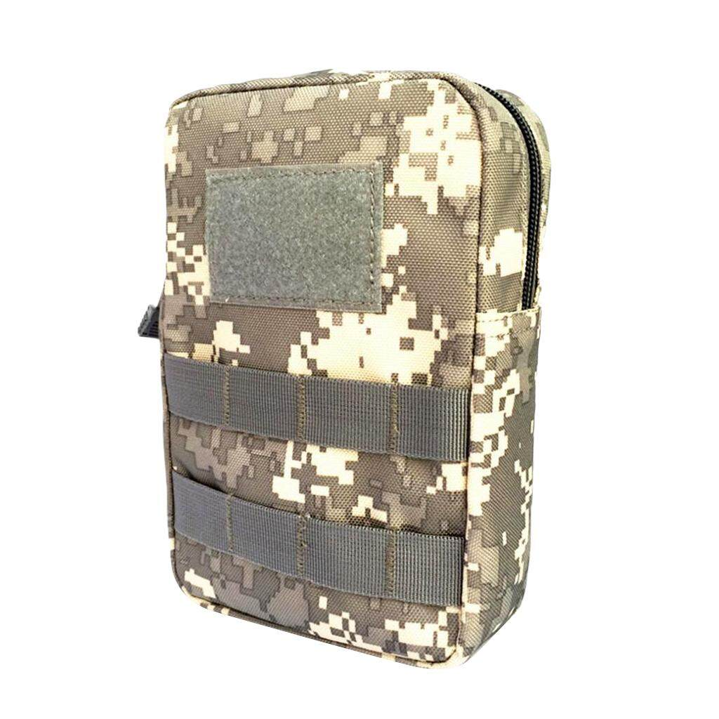 Flameer 1000D MOLLE EMT Medic First Aid Kit Pouch Utility Accessory Belt Bag ACU