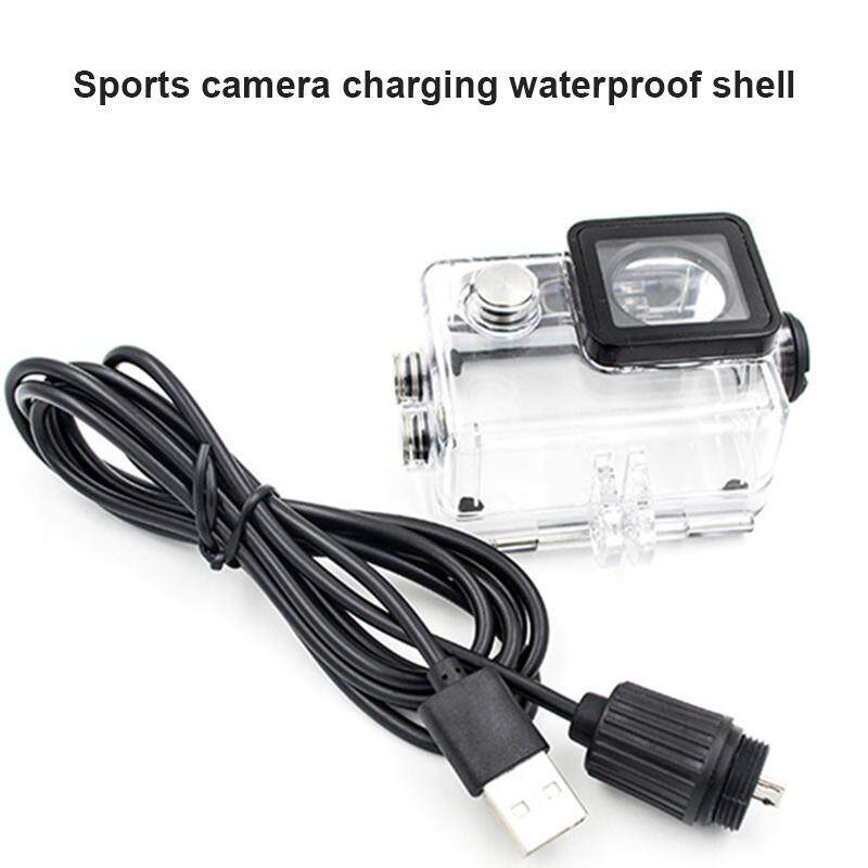 Ybc Waterproof Case With Usb Cable Charger Cover For Sjcam Sj4000 Sj7000 Sj9000 - Intl.