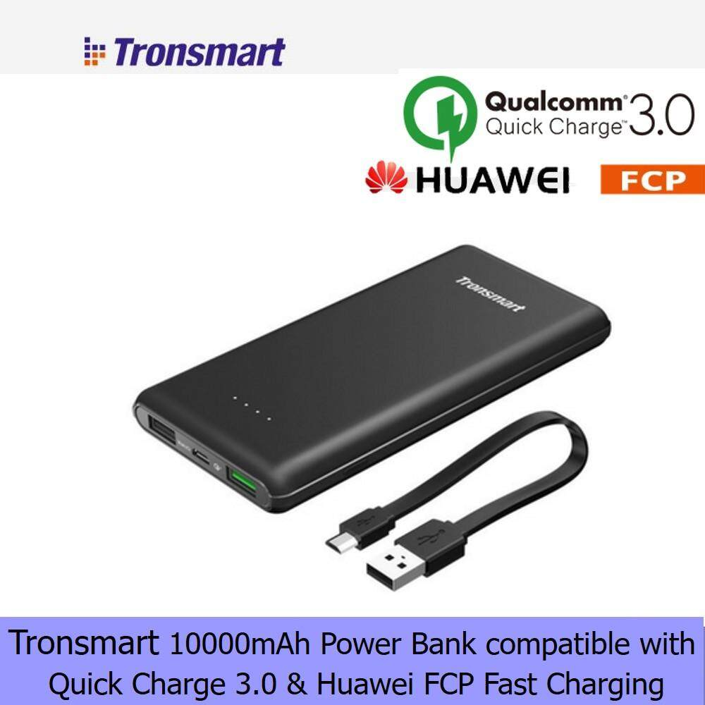Tronsmart Buy At Best Price In Malaysia Quick Charge 30 42w 3 Port Charger W3pta Qualcomm Certified Car Chargers Power Banks