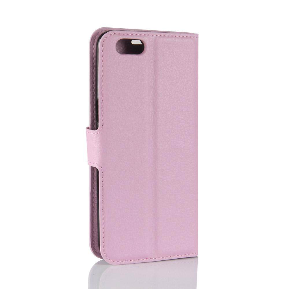Leather Flip Cover Phone Case Wallet Card Holder For OPPO F7 Youth - 5