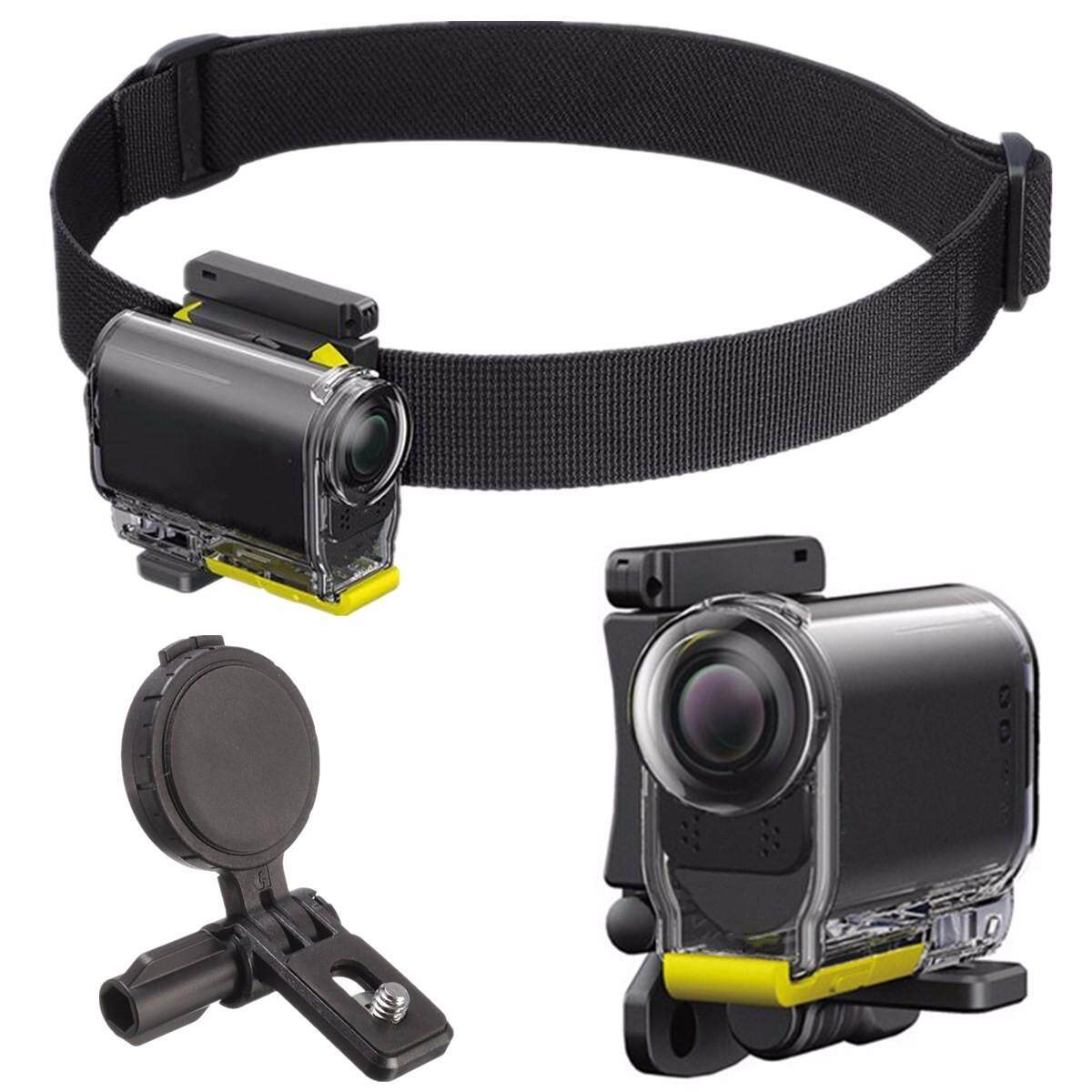 UHM1 Universal Head Strap Mount Kit For Sony Action Camera AS30V AS15 AS100V - intl