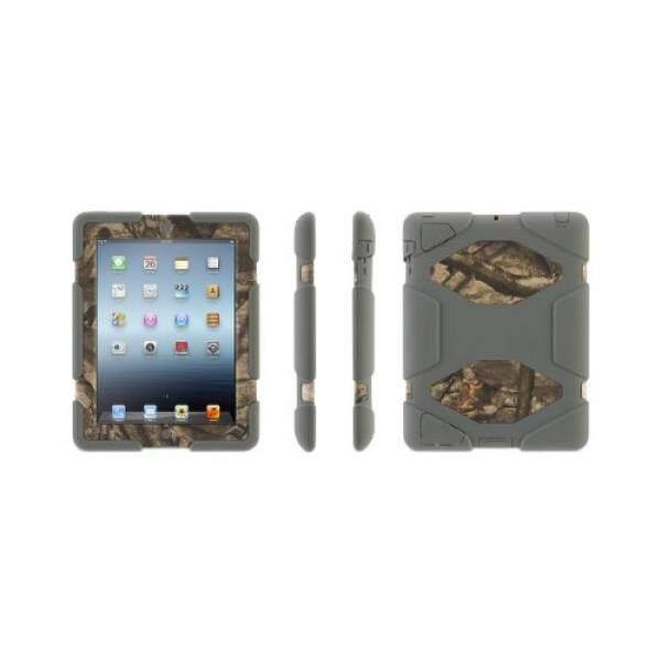 Griffin Greay/Treestand Selamat Segala Medan Case Di Pohon Berlumut Camo + Dudukan untuk iPad 2, 3 dan 4th Gen. -Intl