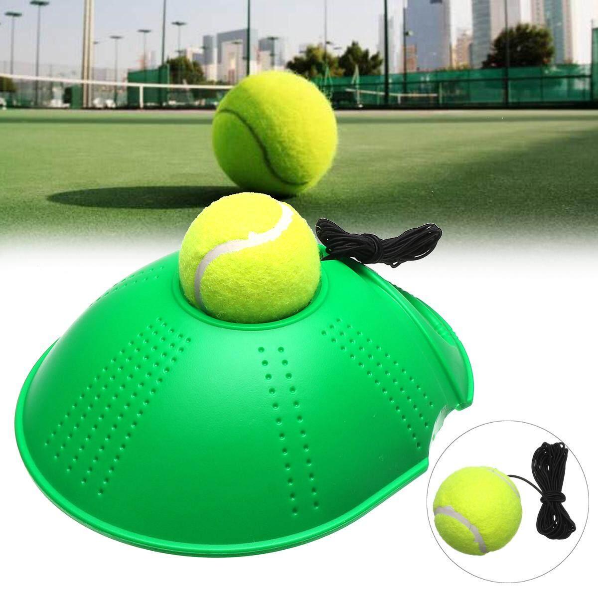 Hình ảnh Single Tennis Rebound Trainer Self-study Training Ball Baseboard Holder Aid