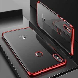 Zeallion Cho Xiaomi Mi Max 3 Xi Mạ Trong Suốt Siêu Mỏng Mềm TPU dán Lưng Da Ốp Lưng thumbnail