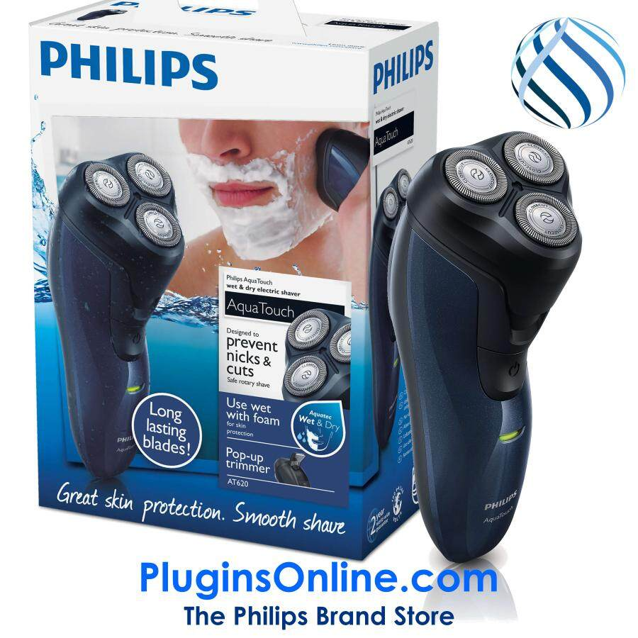Philips AT620/14 LION Shaver 3-H Wet & Dry 100% WATERPROOF (AT620)
