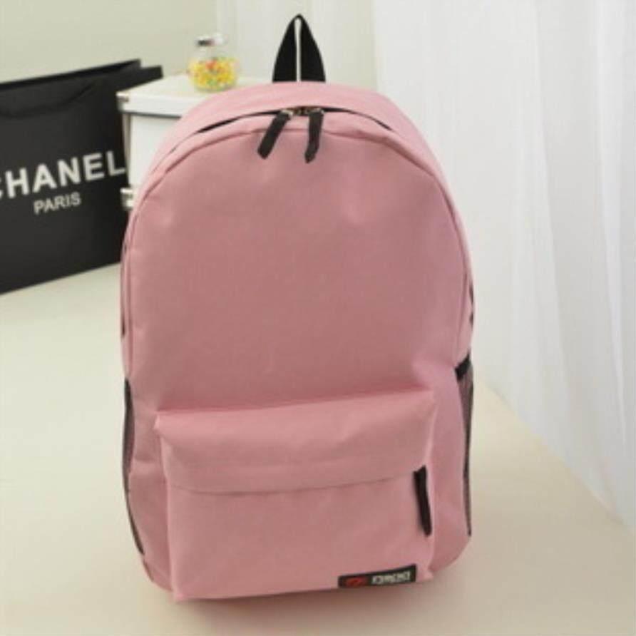 New Backpack Korean Pure Sports Sports Casual Backpack Ransel Sukan - intl