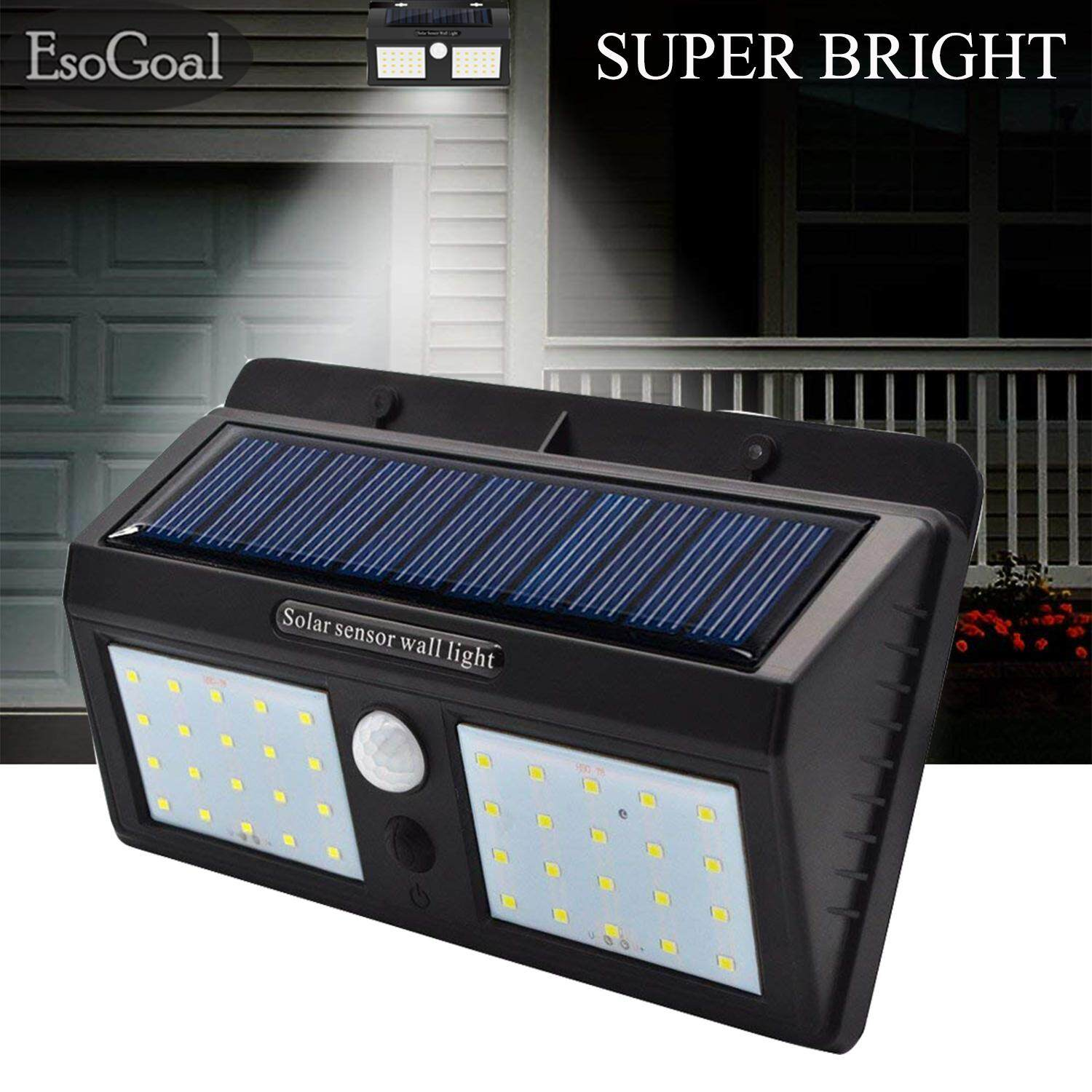 Outdoor Lighting For Sale Lights Prices Brands Review Photoelectric Sensor Esogoal Solar Wall Led Motion Waterproof Wireless Powered