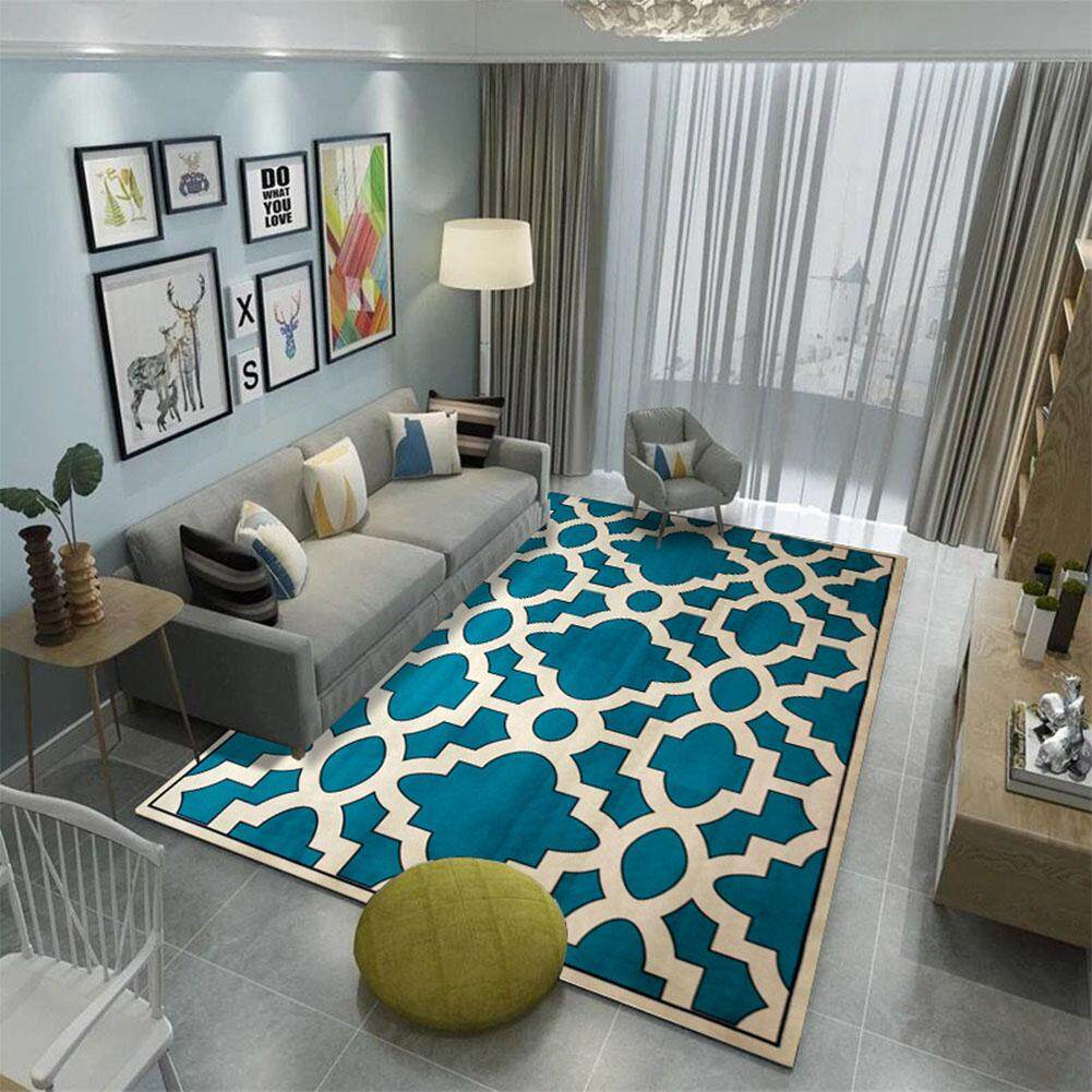 Anti-Slip Soft Geometric Pattern Carpet Large Size Home Area Rugs for Living Room Kids Bedroom Floor Supplies|:10
