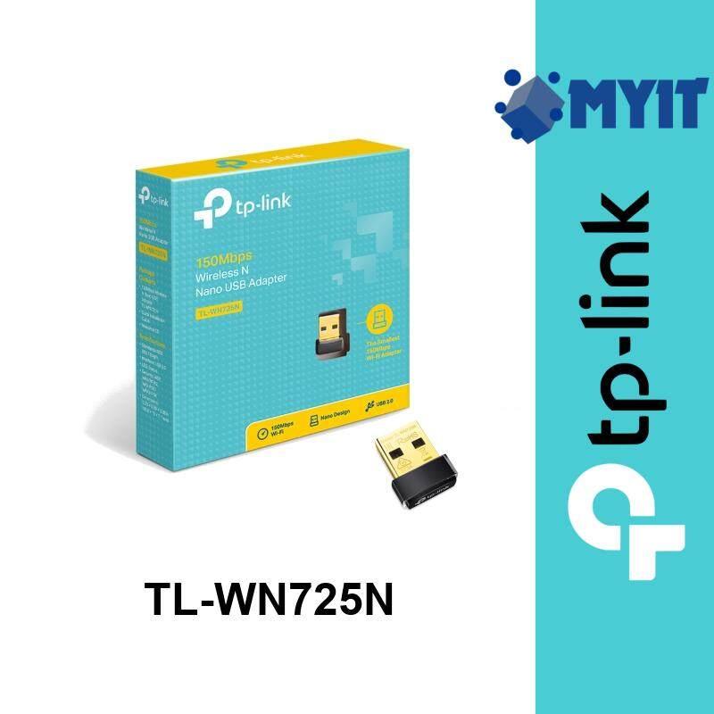 TP-Link TL-WN725N Wireless N 150Mbps Nano Mini 2.4GHz Single Band WiFi USB Network Adapter WN725N (Size 15 x 18.6 x 7.1 mm)