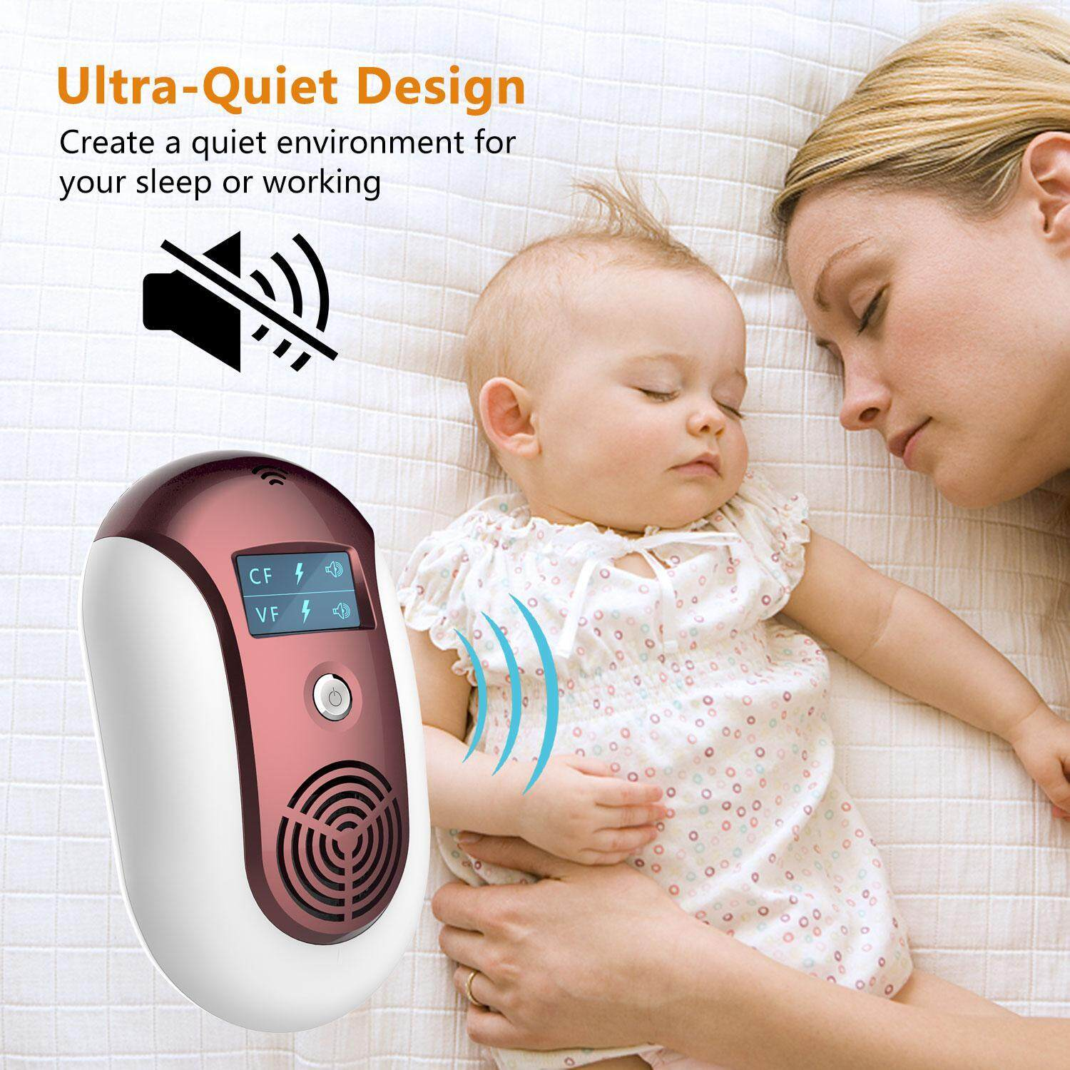 leegoal Mosquito Repellent, Electronic Ultrasonic Pest Repeller Variable Frequency Mouse Pest Repellent Effective Indoor Home Plug-in Bug Repellent Pest Control For Wasp Squirrel Cockroach(UK)