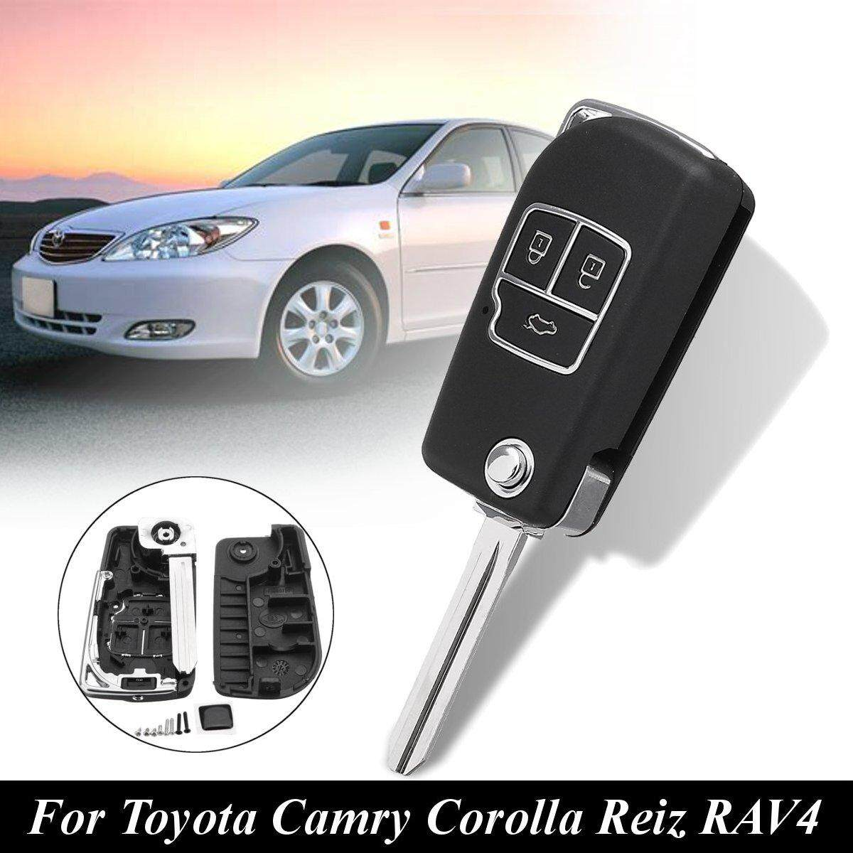 Keyless Entry For Sale Car Online Brands Prices 99 Civic Ignition Wiring Diagram 3 Buttons Remote Key Case Shell W Blade Toyota Camry Corolla Reiz Rav4