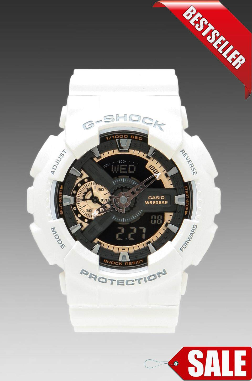 Features Shocking Sale Special Promotion Casio Ga 400cs 7adr Auto G Shock 110gw 7a Salecasio 110rg White Edition Watch