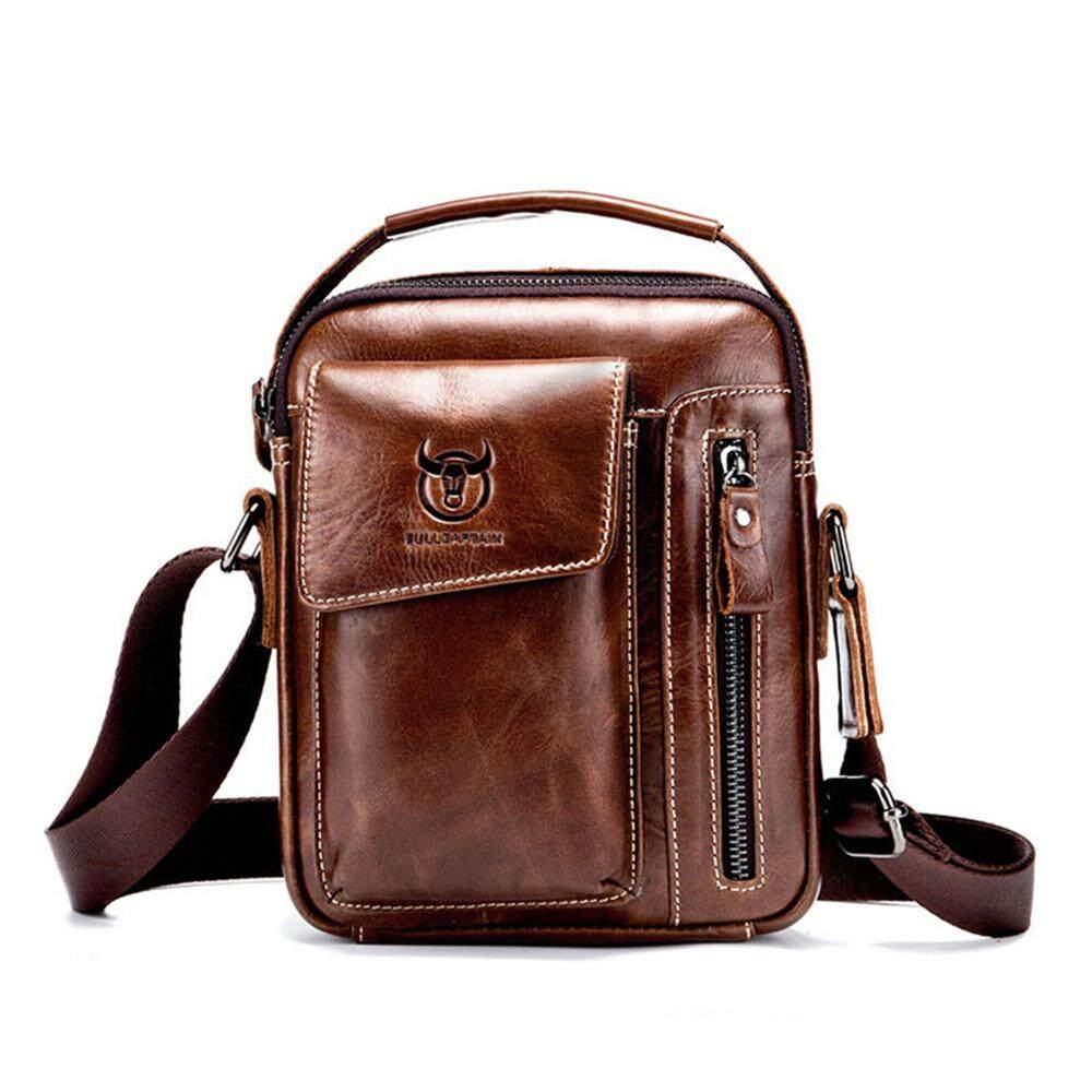 leegoal Genuine Leather Crossbody Bag For Men,Men s Sling Bag Casual Chest  Shoulder Bags Travel 68da45adf2