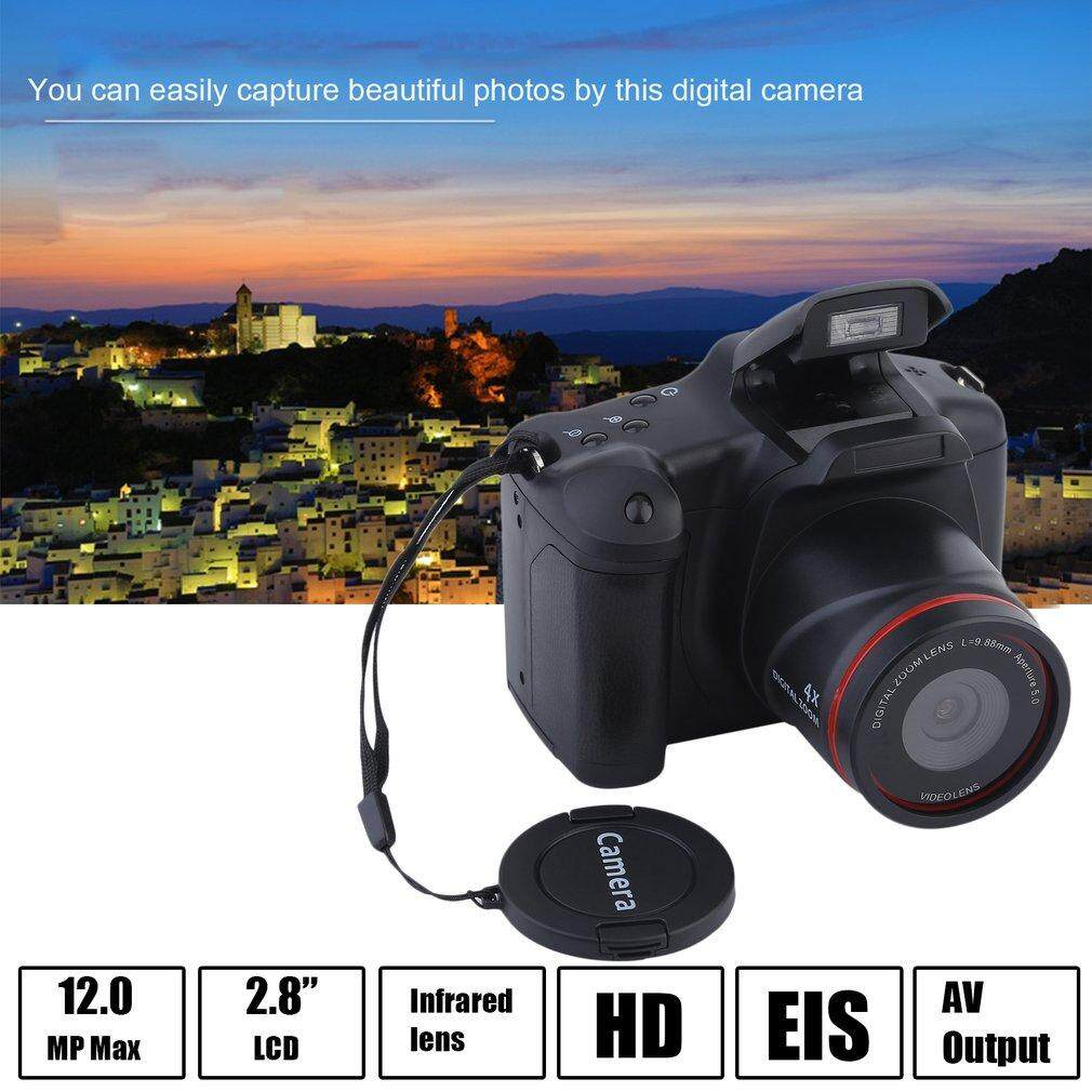 Portable Hd Media Digital/fokus Panjang Slr Kamera Anti-Shake Camcorder Dv-Intl By Yacgroup.