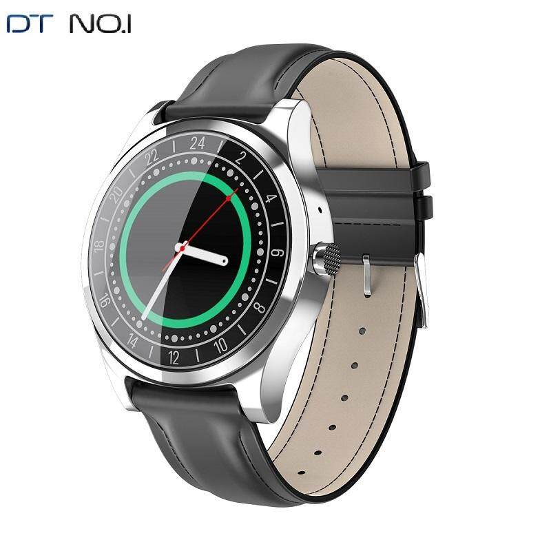 Bluetooth Smartwatch DTNO.1 DT19 Tombol Penyetel Panggilan Olahraga Sentuh Smartwatch Pengingat Pesan Speaker Pedometer Bahasa