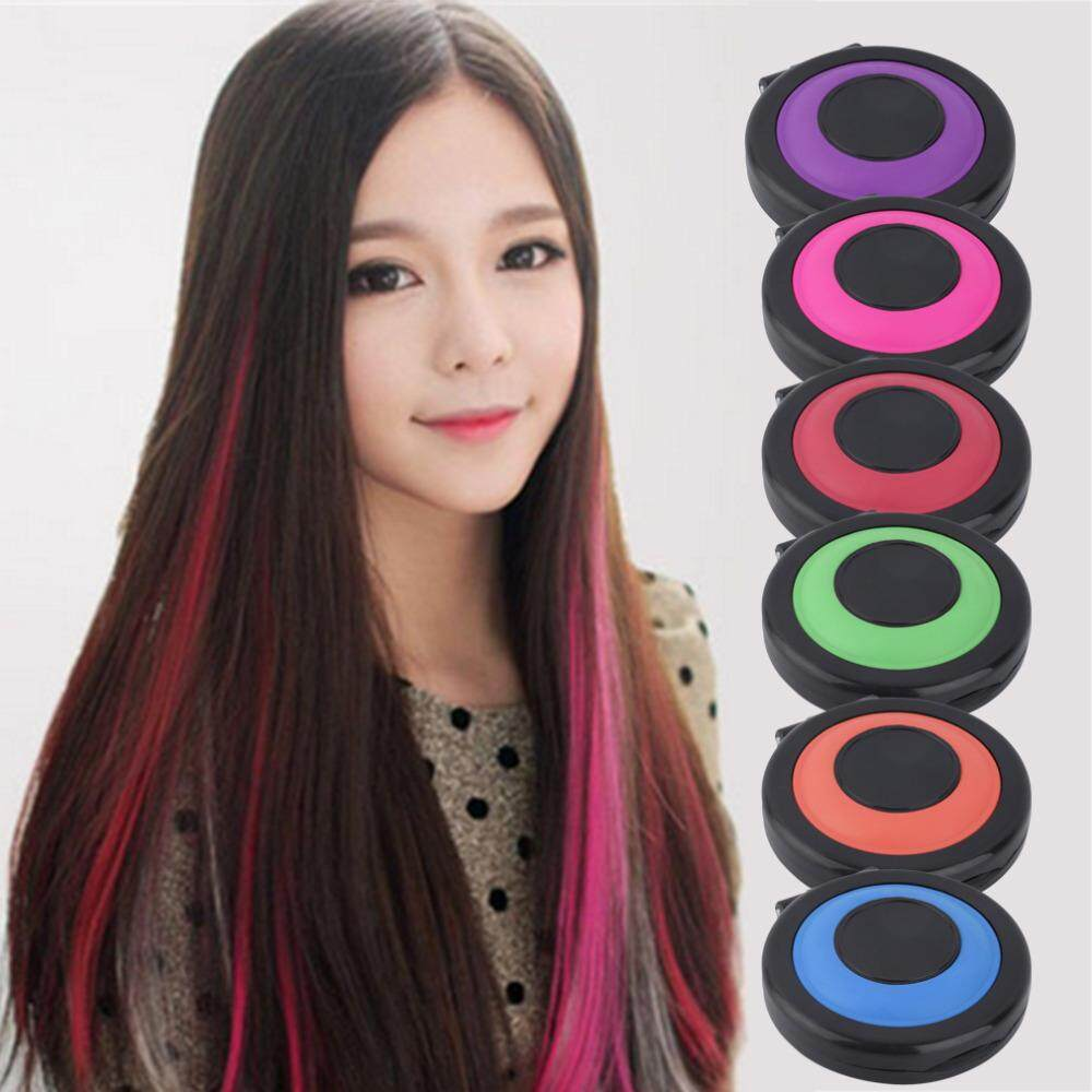 Features Women Professional Temporary Instant Hair Color Dye