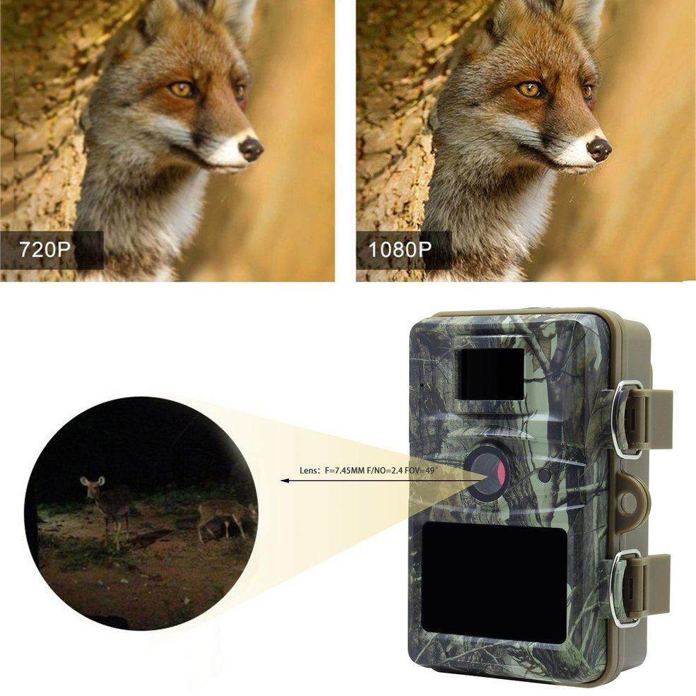 d72acb603fd Infrared Outdoor Hunting Camera Trap 12MP Wildlife Game Cameras HD Night  Vision Waterproof IP66 Hunter Trail