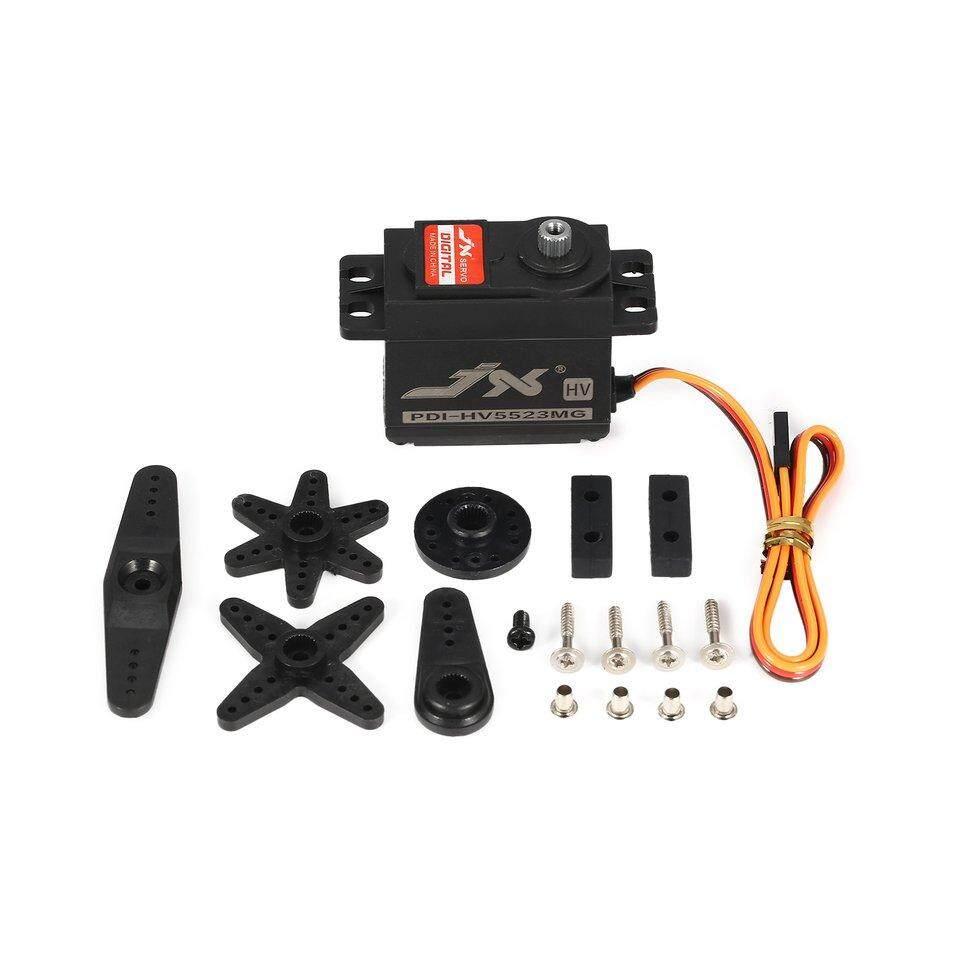 Beau JX PDI-HV5523 23Kg HV Persneling Logam Digital Servo untuk RC Mobil Robot Pesawat