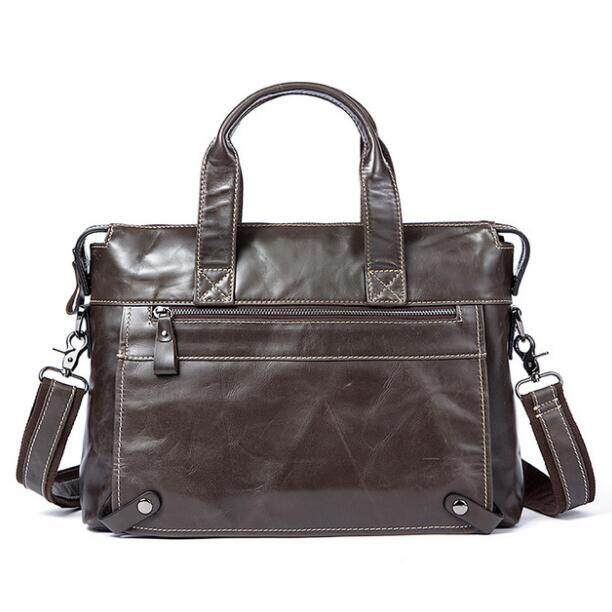 MVA Men Briefcases Genuine Leather Bags Male Briefcase Handbags Messenger Bag Men Leather Laptop Bag Business Briefcases Bags