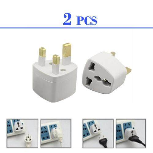(2 pcs)3 Pin Plug Universal Travel Adapter Socket