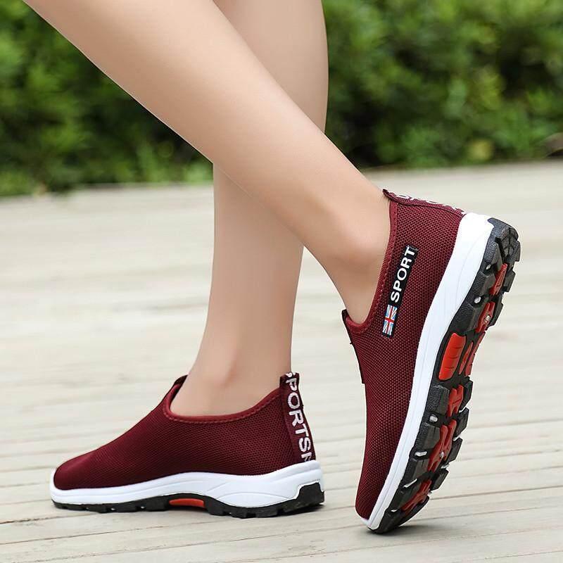 Yealon Wanita Sepatu Olahragawomen Shoes Shoes For Women Kasut Perempuan Sneakers Women Womens Sneakers Breathable Women Breathable Jogging Shoes Walking Shoes Sport Shoes Running Shoes By Yealon Shoes.